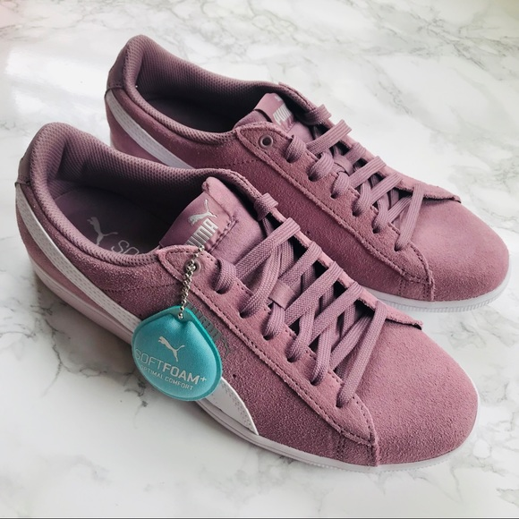 Puma Elderberry Vikky Suede Sneakers